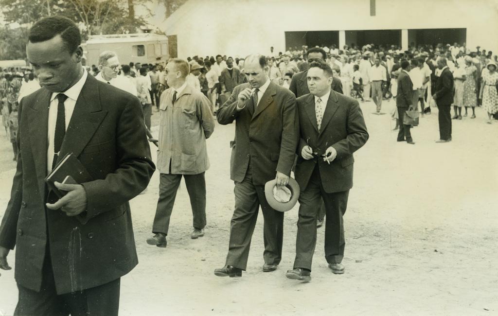 Sortie de l'inauguration de la chapelle de Libamba