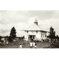 Sortie du temple de Ndoungué