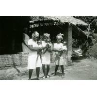 Station de M'Foul, formation pratique des aides sanitaires
