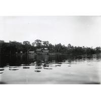 Station missionnaire de la SMEP à Ngomo sur les rives de l'Ogooué
