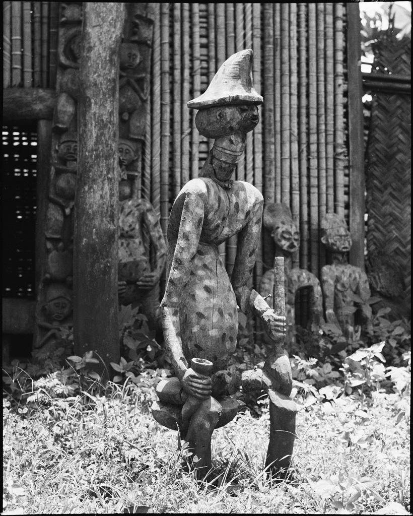 Statue à l'effigie de chef