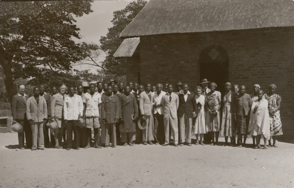 Synode de Sefula. Portrait de groupe