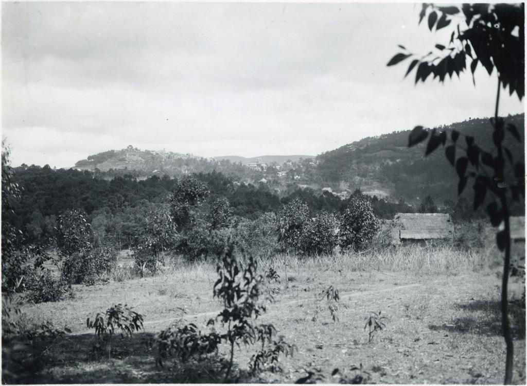 Tananarive vue du Nord
