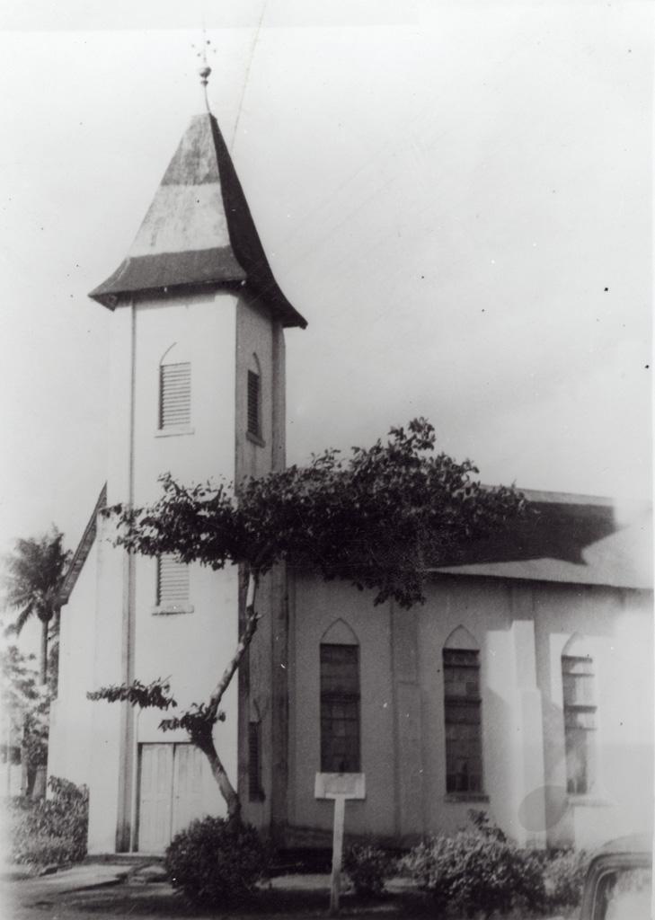 Temple baptiste de Bonalembé à Akwa