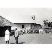 Temple construit avec l'aide du conseil ocuménique des Eglises