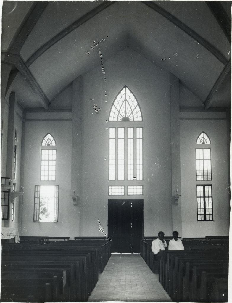 Temple, l'un des portails du transept