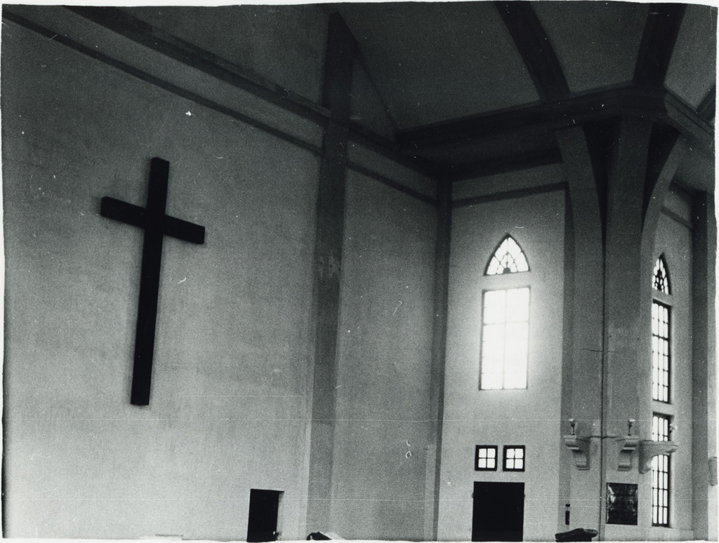 Temple, la croix