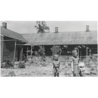Thaba-Bosiu : la maison du missionnaire avant le cyclone
