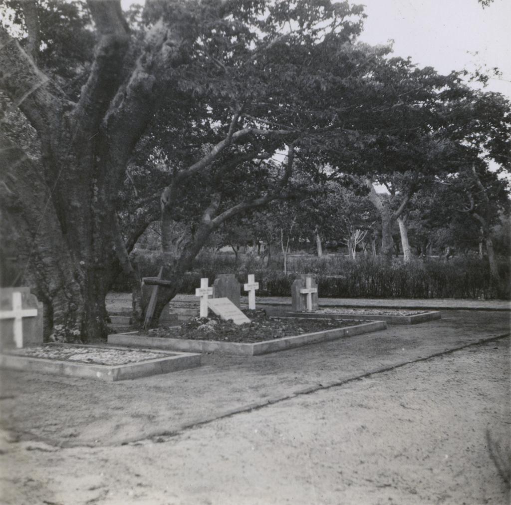 Tombes de messieurs Rittener, Coillard et de mademoiselle Kiener