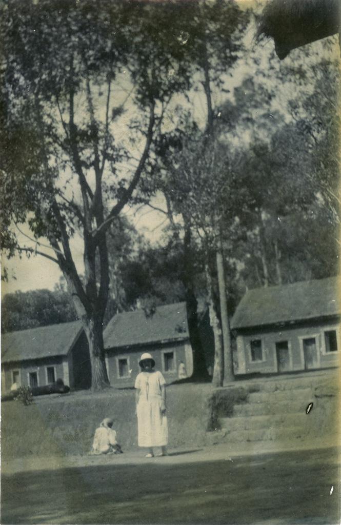Un aperçu de la léproserie de Manankavaly / non identifié (1910/1940)