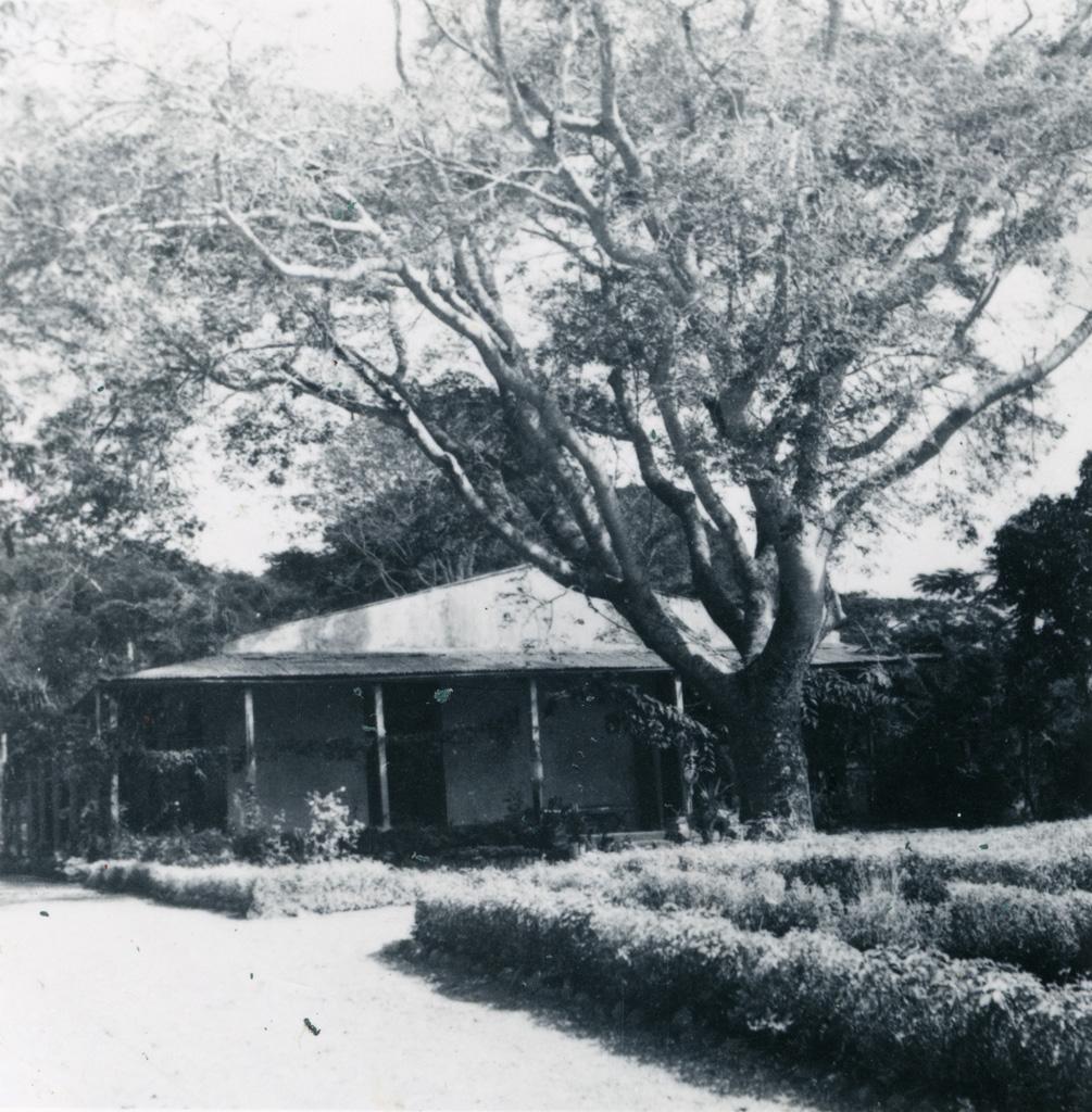 Un bâtiment de la mission de Do Neva / non identifié