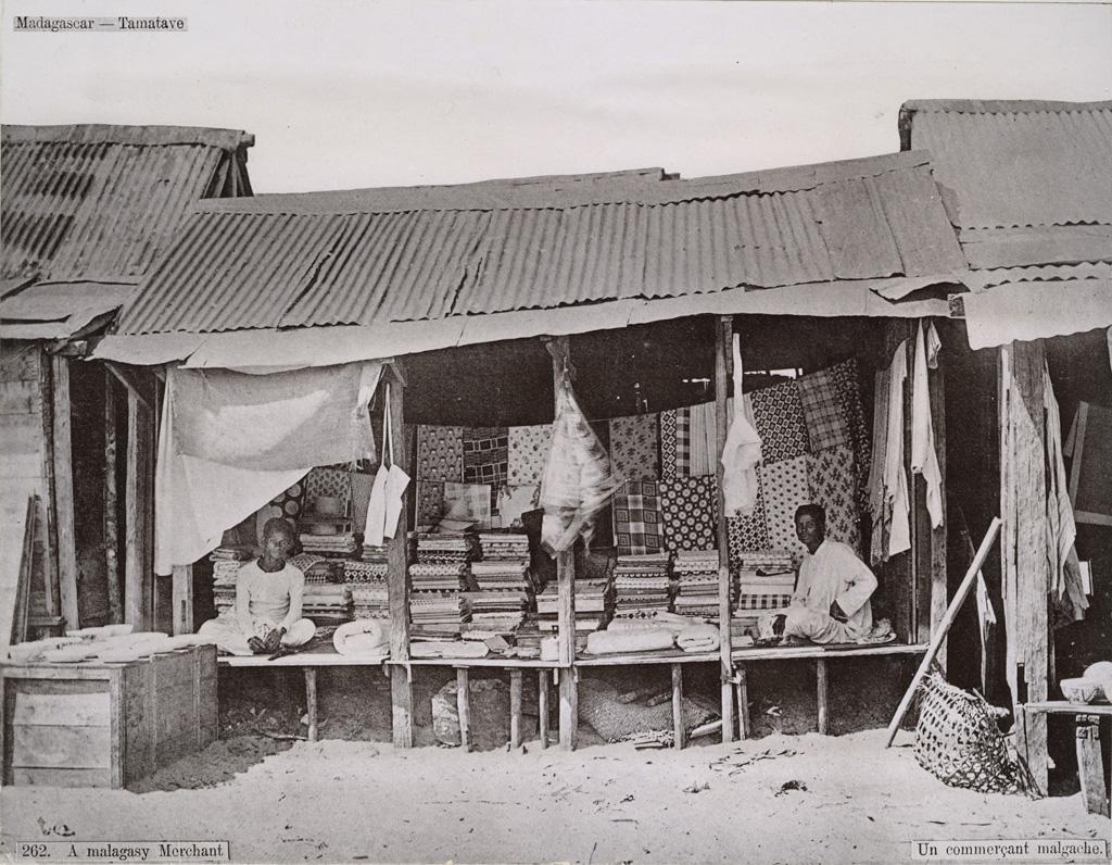 Un commerçant malgache