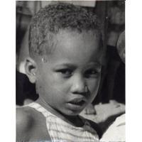 Un petit écolier malgache