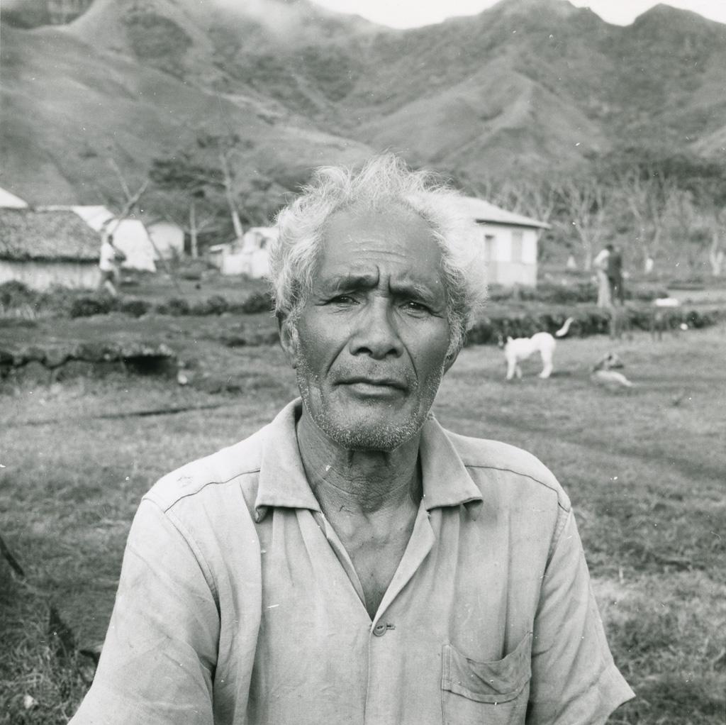 Un vieux Tahitien
