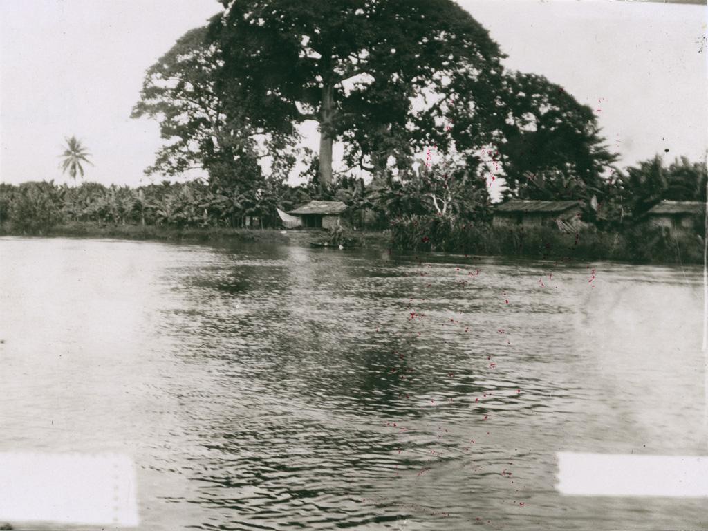 Un village des bords du fleuve