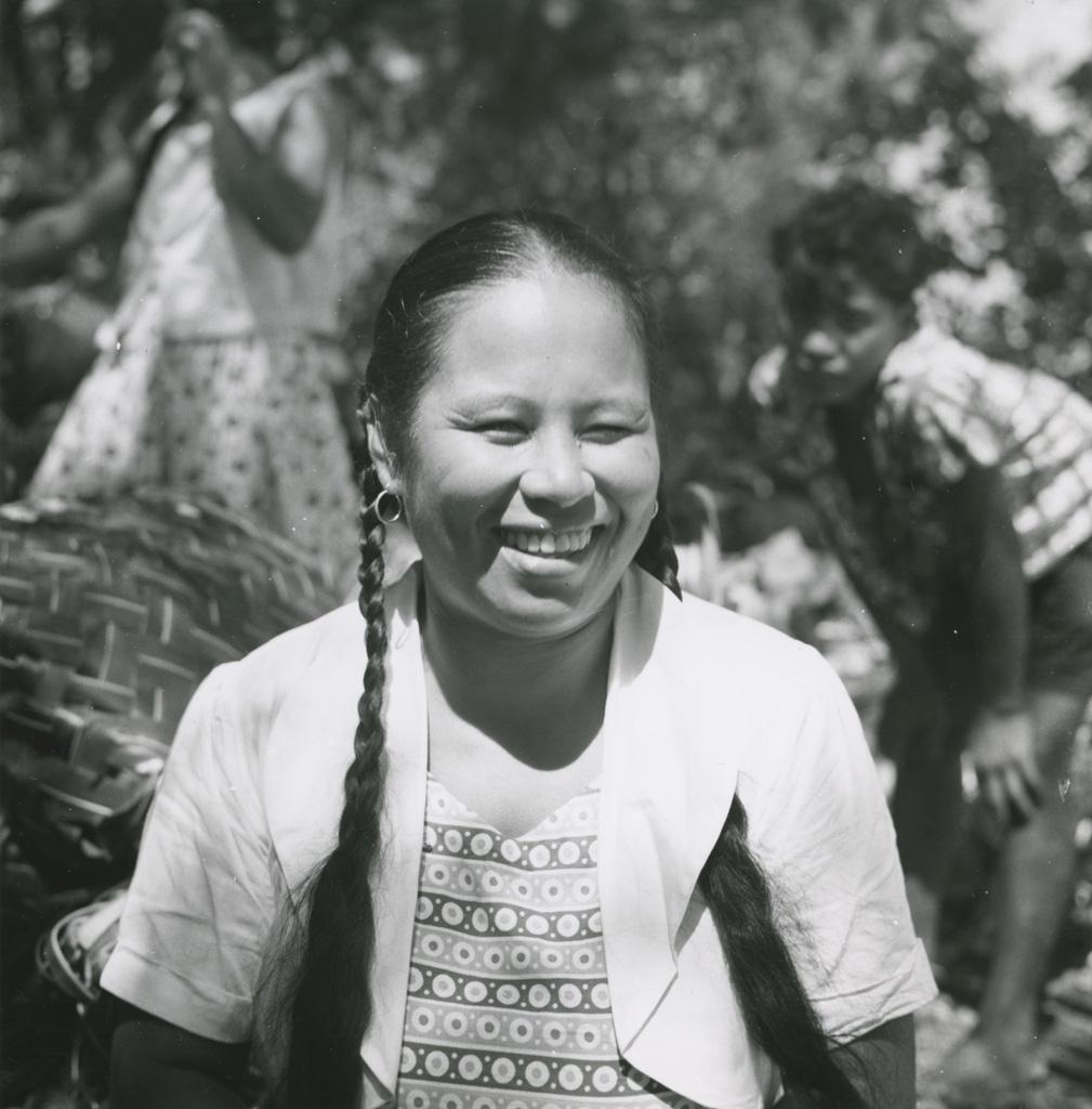 Une Polynésienne