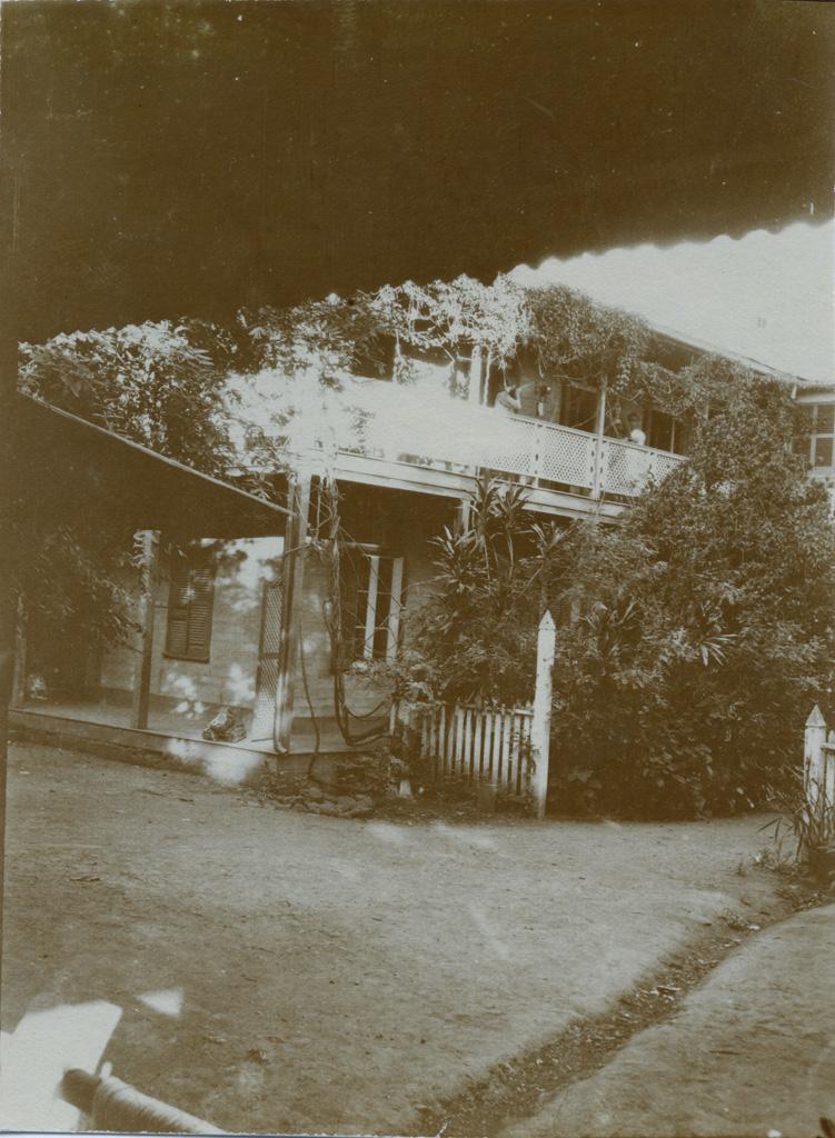 Une aile de l'école des filles de Papeete / non identifié (1921)