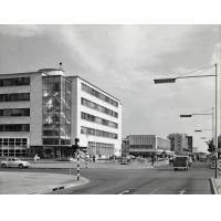 Une artère de Lusaka
