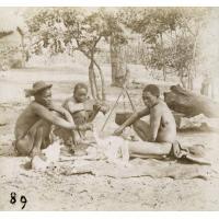 Une boucherie au Zambèze