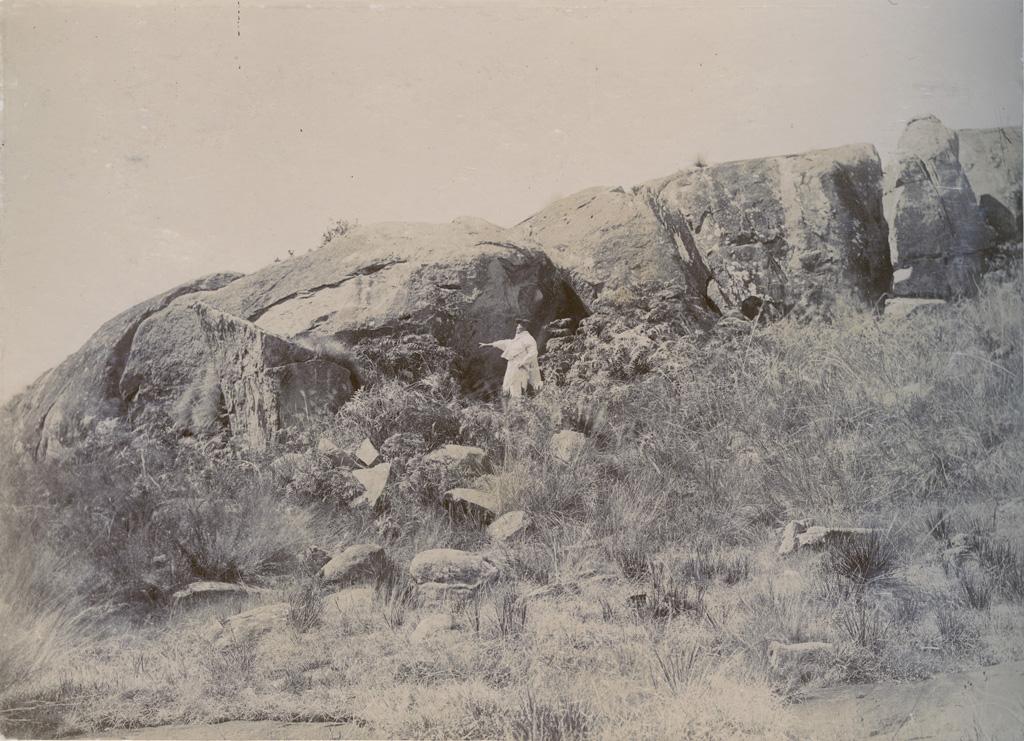 Une caverne près de Fihaonana qui a servi de refuge aux chrétiens persécutés par la reine Ranavalona la sanglante (1828-1861)