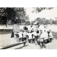 Une classe en plein air