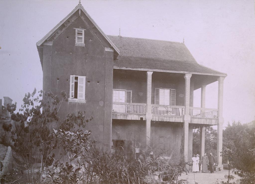 Une des maisons de la mission protestante française dans le quartier de Faravohitra
