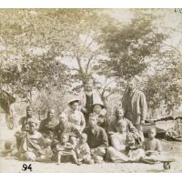 Une famille heureuse et unie au Zambèze