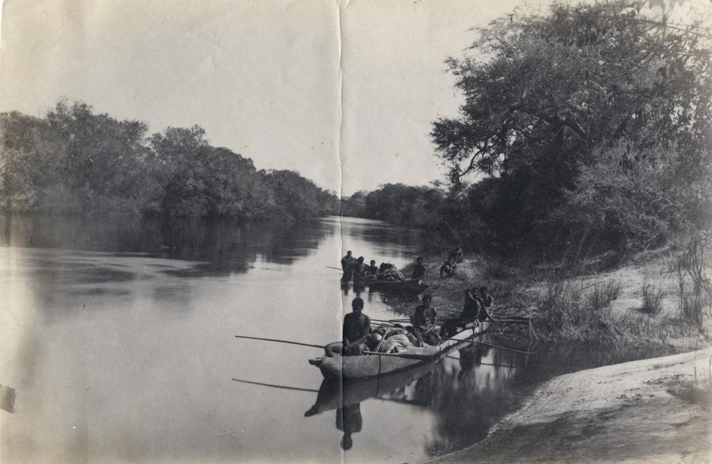 Une halte au Zambèze