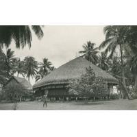 Une maison maorie, Tahiti
