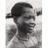 Une petite fille, fille du frère de Njoya