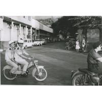 Une rue à Papeete