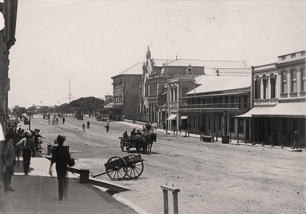 Une rue de Durban
