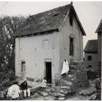 Vieille case en Imerina en briques crues