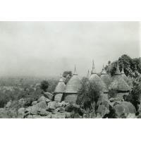 Village Kirdi entre Koza et Mokolo