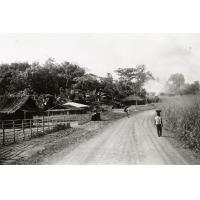 Village de Mvomayop, village particulièrement bien entretenu par ses habitants