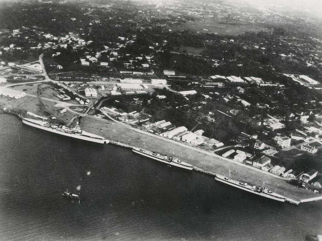Vue aérienne de Douala