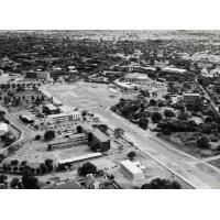 Vue aérienne de Lusaka