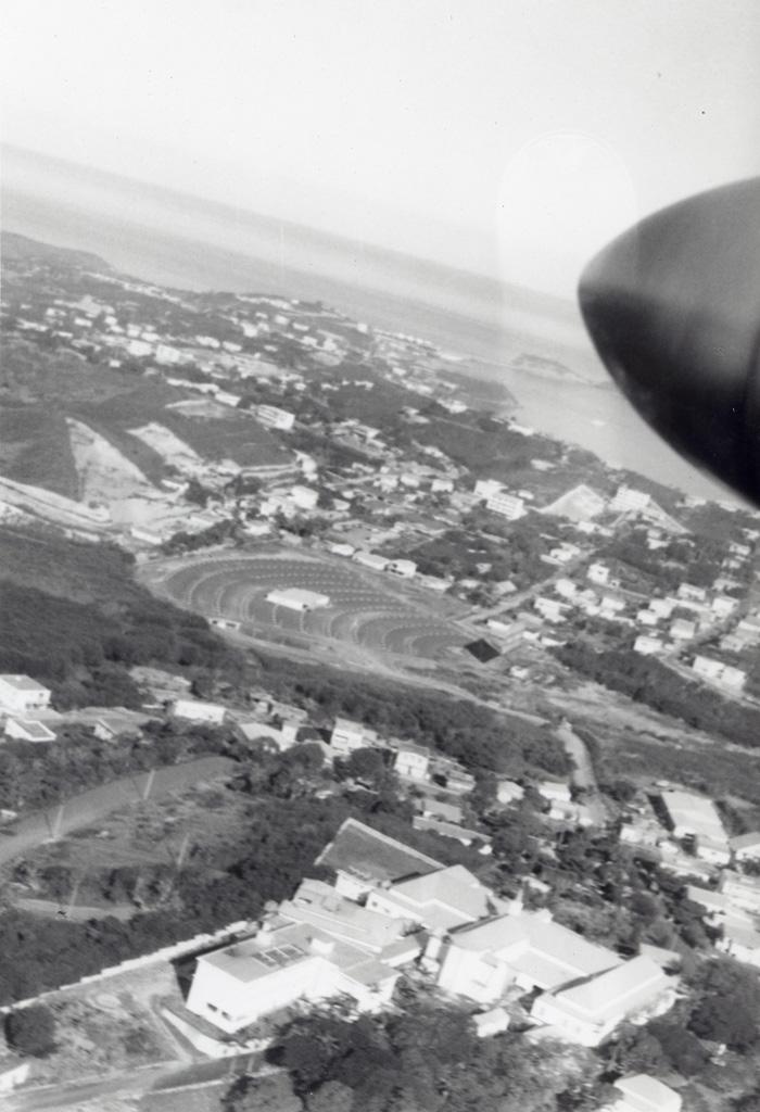 Vue aérienne de Nouméa