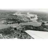 Vue aérienne du Gabon