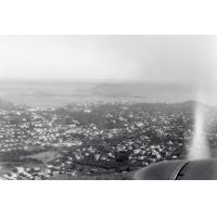 Vue aérienne sur les nouveaux quartiers de Nouméa