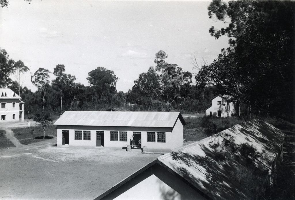Vue d'ensemble de la station inaugurée en 1953