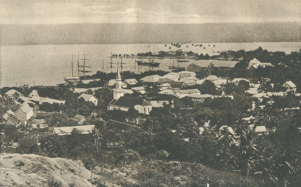 Vue de Papeete