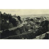 Vue de la ville, avec l'avenue de la Libération