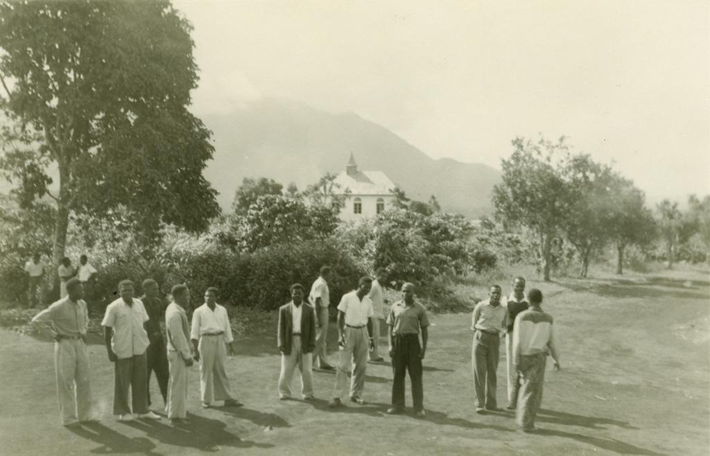 Vue depuis l'école biblique de Ndoungue