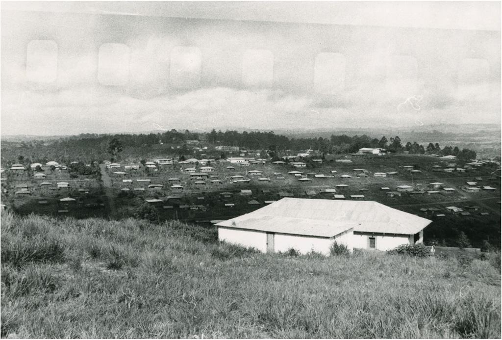 Vue depuis la collège protestant Thomas Noulong, à Bangangté