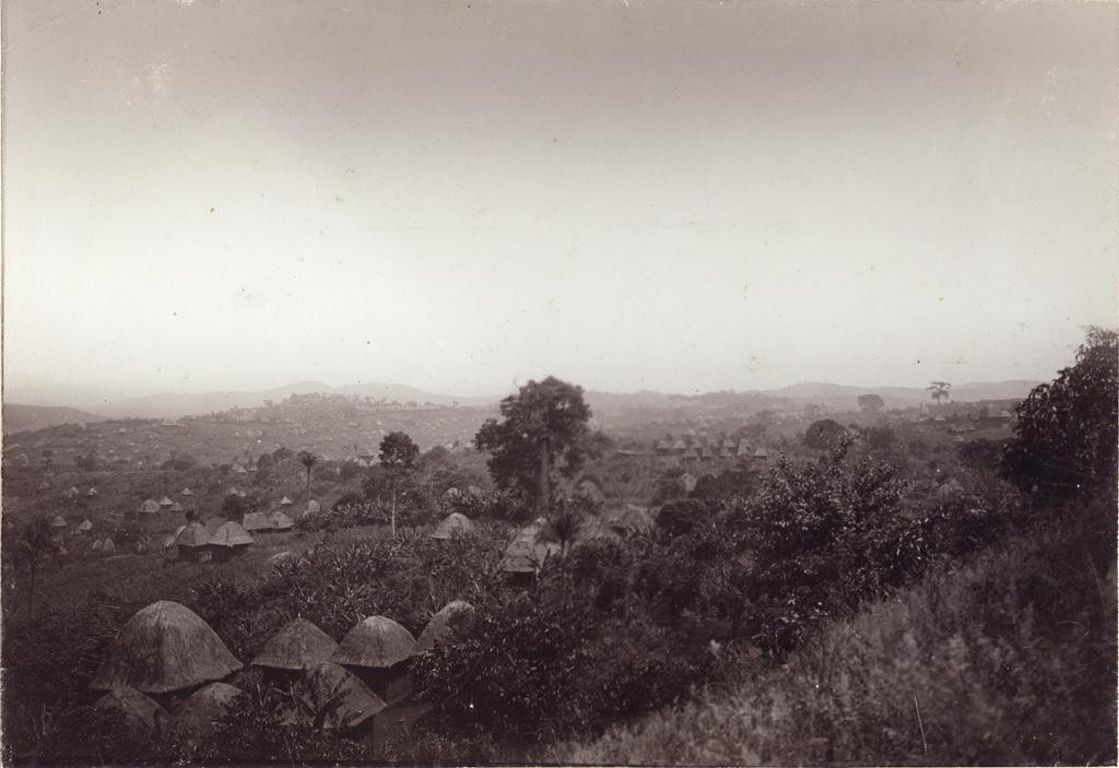 Vue du pays Bamoun