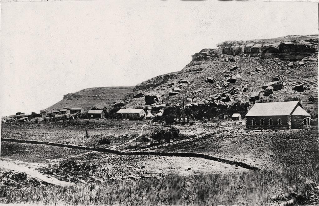 Vue générale de la station missionnaire de Sebapala