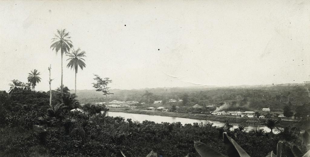 Vue panoramique de Yabassi