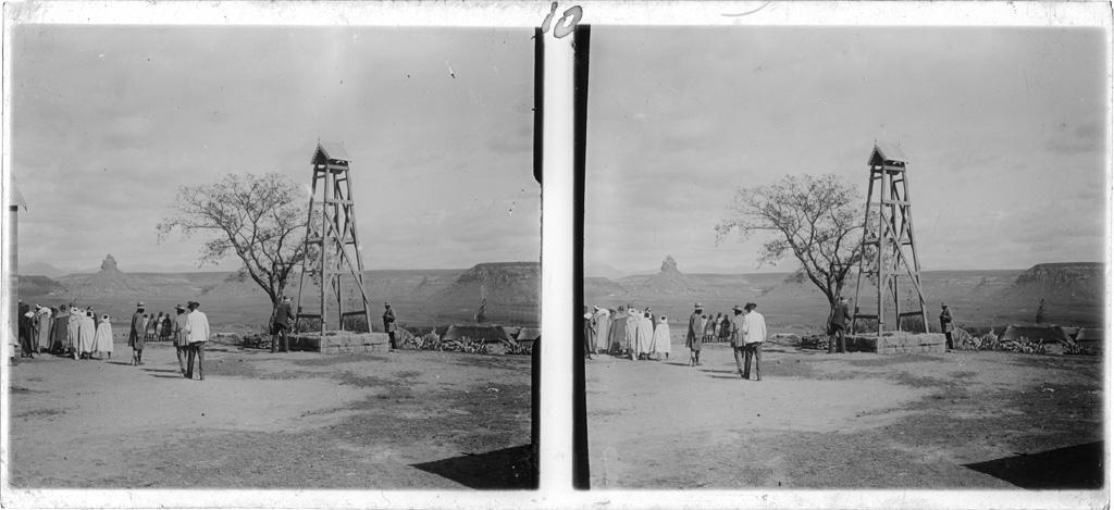 Vue prise sur le plateau de Thaba-Bosiu