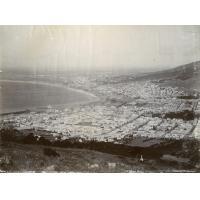 Vue sur la ville du Cap, Baie de la Table